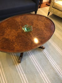 brown wooden round table with drawer Washington, 20015