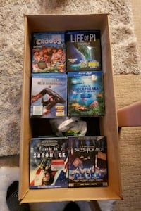 3 D and blue ray  Movies for sale Vancouver, V5L 4Y4