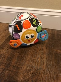 VTECH BRIGHT LIGHTS SOCCER BALL LEARNING TOY
