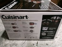 BNIB Cuisinart 10 piece stainless steel cookware Mississauga, L5B 3J4