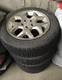 winter tires 15 inch with Aloy Rim Montreal, H4A