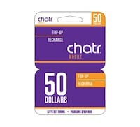 60 Chatr Phone Cards St. Catharines