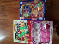 toddler's three assorted colored plastic toy set Dumfries, 22026