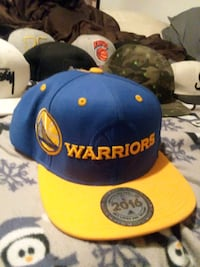 blue and yellow Golden State Warriors cap Marion, 52302