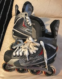 pair of black-and-gray inline skates Dartmouth, B2W 6E7