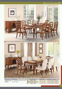 2 different styles of 9pcs dinning set West Covina, 91792
