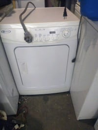 Maytag apartment size dryer 24in 240-volt works good free delivery Capitol Heights, 20743