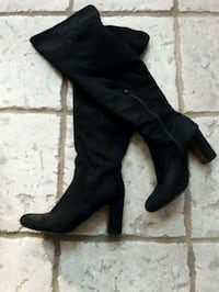thigh high suede boots  Scarborough, M1C