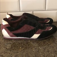 Authentic Coach sneakers (size 8.5)