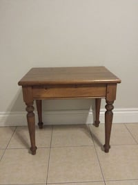 Old Solid side table  Newmarket