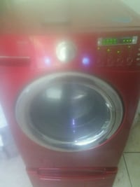 red front-load clothes washer Pensacola, 32501