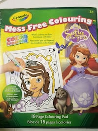 Crayola Sofie  Mess Free Coloring Book
