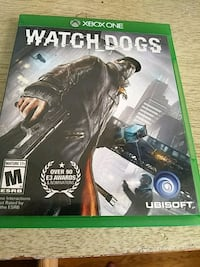 Watch Dogs Xbox One game case Dover, 19904