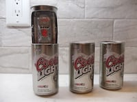 Nascar Collectible Coors Beer Cans PORTCREDIT