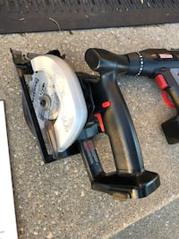 Craftsman 14.4 drill saw combo kit.  All parts  39 km
