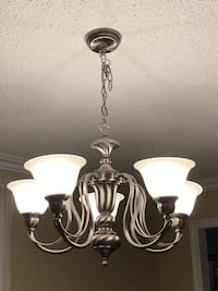 Silver chandelier Vaughan, L4H 1G5