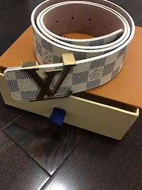 white authentic LV belt  Kleinburg, L4H 4G9