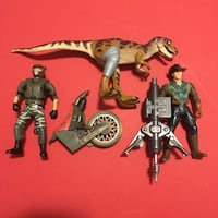 Jurassic park lost world action figures Port Perry, L9L 1B5