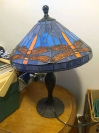 Lamp with stained glass shade Lexington, 40504