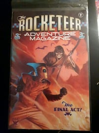 The Rocketeer Comic Book
