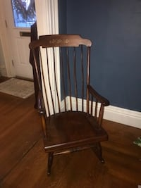 Solid Wood Rocking Chair Woonsocket