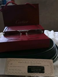 Cartier ct01150 vintage foldable glasses Baltimore, 21217
