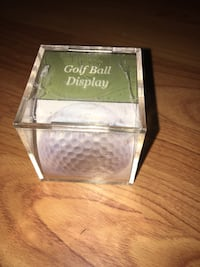 Golf Ball Display Case Pick up Markshuffel and Constitution  Colorado Springs, 80951
