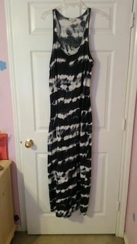 Ralph Lauren Navy & White maxi dress  Fort Worth, 76118