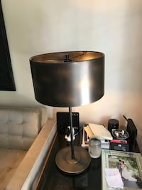 black and gray table lamp Los Angeles, 90046