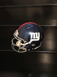 New York Giants Authentic Full Size NFL Helmet Vaughan, L4H 0V3