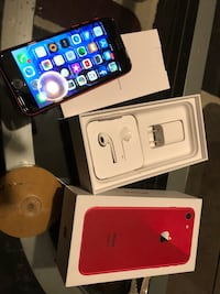 Month old 64 gig iPhone 8 limited edition Nanaimo, V9R 1B3