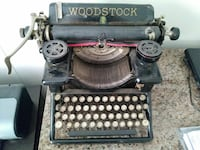 Antique Typewriter Woodstock