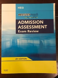 Admission Assessment Exam Review book Jacksonville, 28546