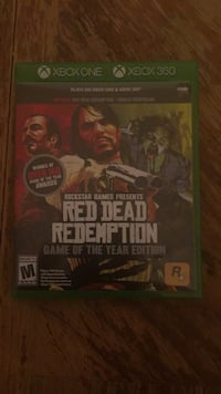 Red dead redemption game of the year xbox one and xbox 360 Temple Hills, 20748