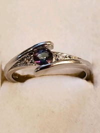 New Silver 925 ring,  size 8 Toronto, M2M 4B9