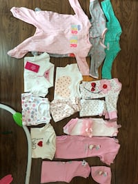Nb-3M baby girl clothes Mississauga, L5B 0K4