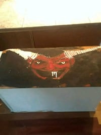 Painting of the devil 538 km