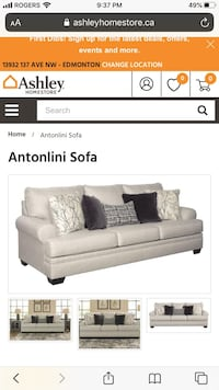 Sofa from Ashley Furniture FREE DELIVERY HOMES ONLY Milton, L9E