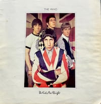 "Iconic Rock Legends - THE WHO - ""The Kids Are Alright"" Insert Booklet - $10 (Bethesda Bethesda, MD, USA"