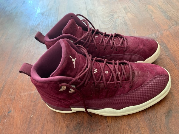 new style c4e22 68b93 Jordan 12s burgundy and A16+kith Ultra boosts