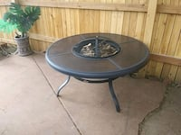 Hampton Bay Fire pit.$50 can deliver. Thornton, 80229