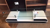Black & White Glass Top T.V Stand  Phoenix, 85018