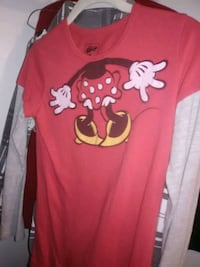 red and white Mickey Mouse print sweater Silverdale, 98383