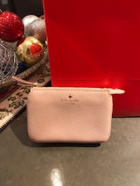 Kate Spade - pink soft leather change wallet new  541 km