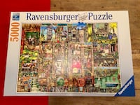 Great puzzle - 5000 pieces - Like new! Takoma Park