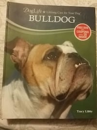 Book about caring for your bull dog.  Hagerstown, 21740
