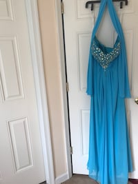 Turquoise formal gown Chesapeake, 23322