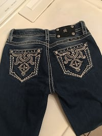 MISS ME SKINNY JEANS SIZE 14 FOR GIRLS Blue Mound, 76131