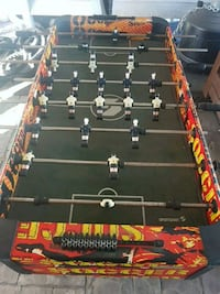 black and brown foosball table New Westminster, V3M 3X7