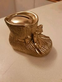 gold plated bootie bank